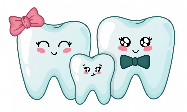 kawaii-teeth-family-cute-cartoon-characters_74565-410